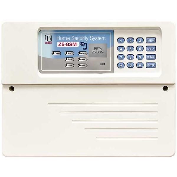 دزدگیر اماکن بتا مدل Z7-GSM با تلفن کننده سیم کارتی